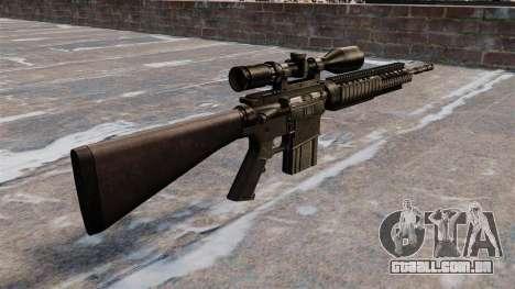 Rifle sniper Armalite AR-10 para GTA 4 segundo screenshot