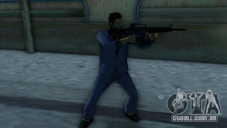 M4 da versão XBOX para GTA Vice City segunda tela