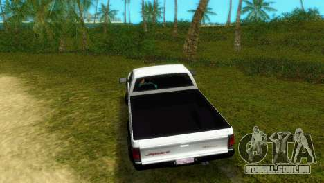GMC Cyclone 1992 para GTA Vice City vista traseira esquerda