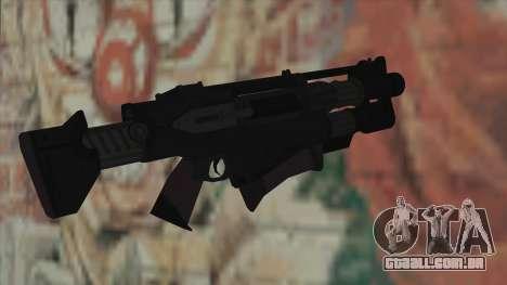 Rifle de Timeshift para GTA San Andreas segunda tela