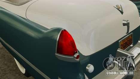 Cadillac Series 62 1949 para GTA 4 interior