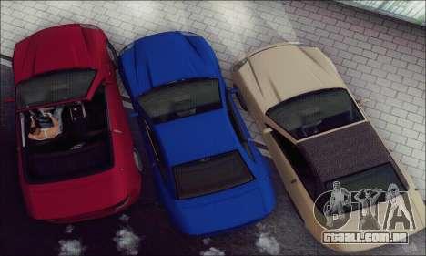 Feltzer de GTA IV para GTA San Andreas vista interior