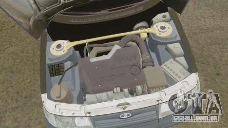 VAZ-2110 para GTA 4 vista de volta