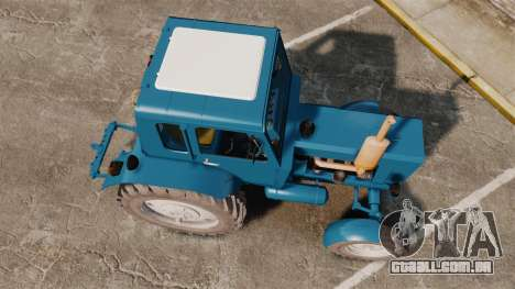 Trator MTZ-80 para GTA 4 vista direita