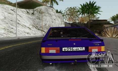 Ba3 2114 para vista lateral GTA San Andreas