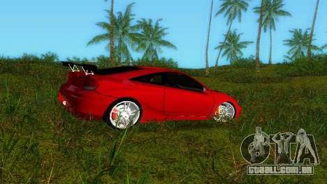 Toyota Celica XTC para GTA Vice City deixou vista