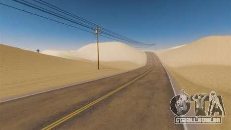 Localização do deserto Highway para GTA 4 terceira tela