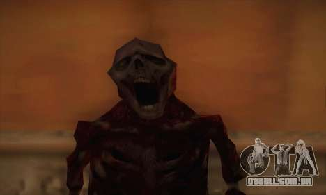Zombie para GTA San Andreas terceira tela