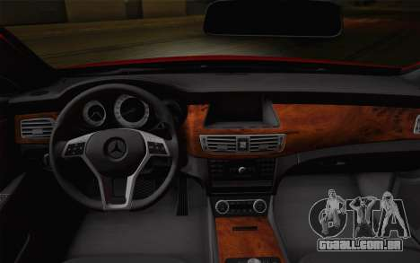 Mercedes-Benz CLS 63 AMG 2012 Fixed para as rodas de GTA San Andreas