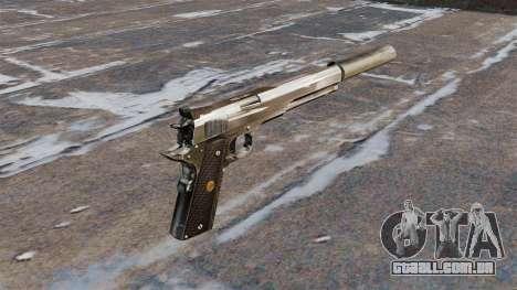 A pistola semi-automática Hardballer AMT para GTA 4 segundo screenshot