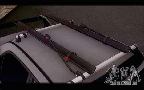 Mitsubishi Lancer Evolution Stance para GTA San Andreas vista direita