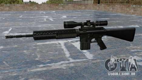 Rifle sniper Armalite AR-10 para GTA 4 terceira tela