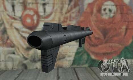 Lançador de míssil de Star Wars para GTA San Andreas segunda tela