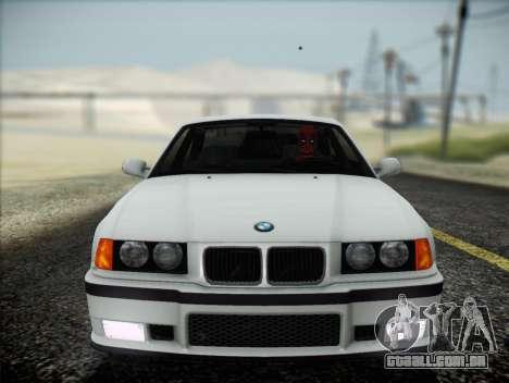 BMW M3 E36 para GTA San Andreas vista interior