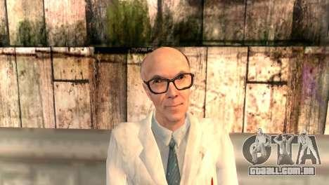 Dr. Kleiner para GTA San Andreas terceira tela