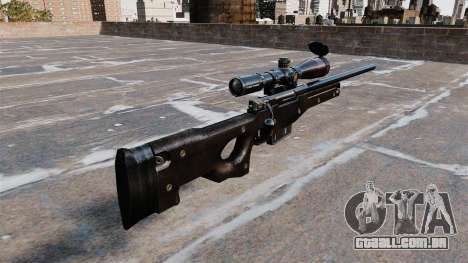 Rifle de sniper AI Arctic Warfare Magnum para GTA 4 segundo screenshot