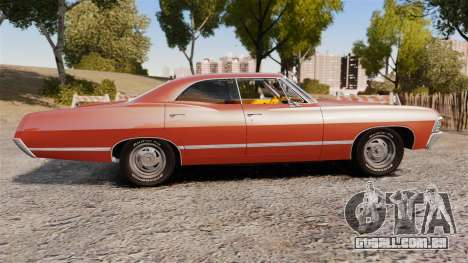 Chevrolet Impala 1967 para GTA 4 esquerda vista