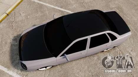 VAZ-2170 Lada Priora Turbo para GTA 4 vista direita
