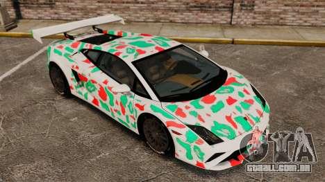 Lamborghini Gallardo 2013 v2.0 para GTA 4 vista inferior