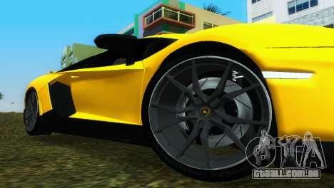 Lamborghini Aventador LP720-4 50th Anniversario para GTA Vice City vista direita