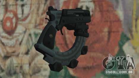 A arma do Timeshift para GTA San Andreas segunda tela