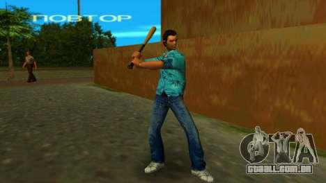 Taco de beisebol de GTA IV para GTA Vice City terceira tela