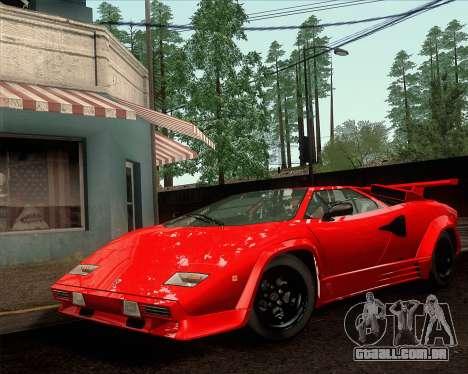 Lamborghini Countach LP500 Quattrovalvole 1988 para GTA San Andreas vista direita
