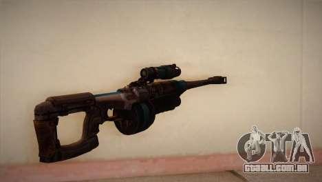 Rifle sniper de Bulletstorm para GTA San Andreas segunda tela
