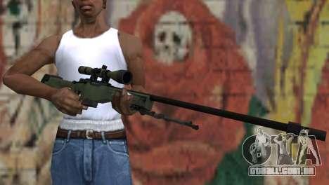 AWP from CS:GO para GTA San Andreas terceira tela