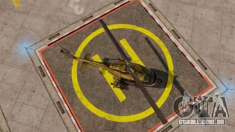 Bell UH-1 Iroquois v2.0 Gunship [EPM] para GTA 4 vista direita