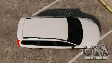 Volvo XC70 Unmarked [ELS] para GTA 4 vista direita