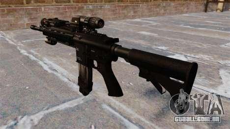 Carabina Colt M4A1 automática para GTA 4 segundo screenshot