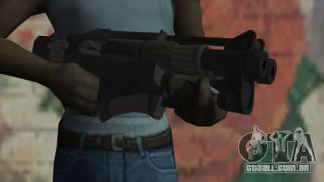 Rifle de Timeshift para GTA San Andreas terceira tela