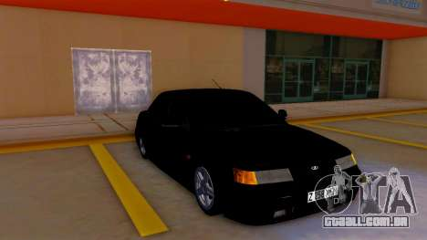 VAZ 2110 Cazaquistão para GTA San Andreas esquerda vista