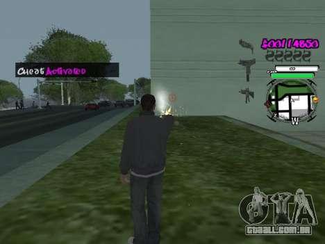 HUD para GTA San Andreas terceira tela