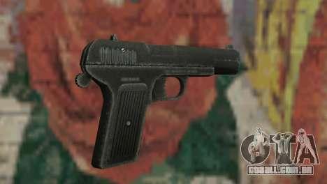 Pistola do TT para GTA San Andreas terceira tela