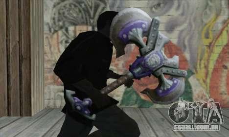 Machado de World of Warcraft para GTA San Andreas terceira tela