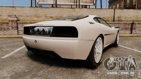 Turismo Sport para GTA 4 traseira esquerda vista