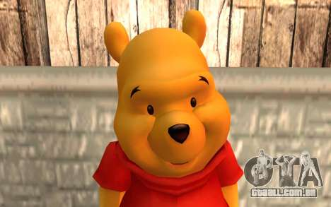 Winnie The Pooh para GTA San Andreas terceira tela