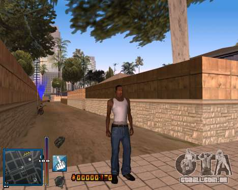 C-HUD by Mike Renaissance para GTA San Andreas por diante tela