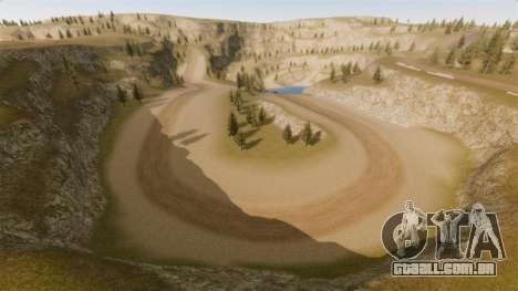 Cliffside localização Rally para GTA 4 terceira tela