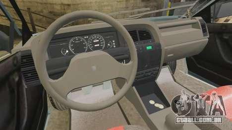 Citroen Xantia 1999 para GTA 4 vista de volta
