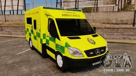 Mercedes-Benz Sprinter [ELS] London Ambulance para GTA 4