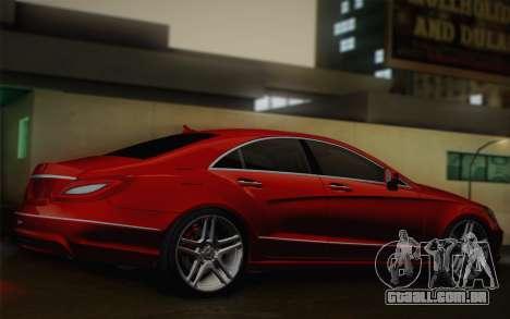 Mercedes-Benz CLS 63 AMG 2012 Fixed para GTA San Andreas vista traseira