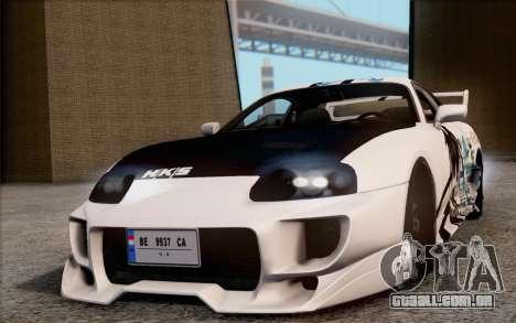 Toyota Supra Mk IV para GTA San Andreas