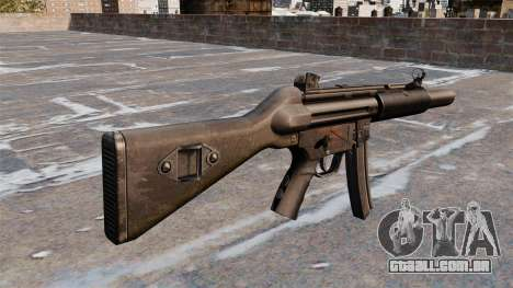 Pistola-metralhadora HK MP5A5 para GTA 4 segundo screenshot