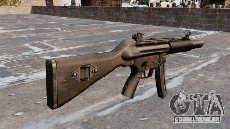 Pistola-metralhadora HK MP5A5 para GTA 4 segundo screenshot