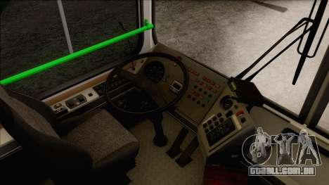 LIAZ 5256.57 para GTA San Andreas vista interior