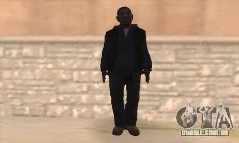 Clarence de GTA IV para GTA San Andreas