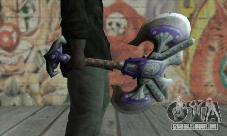 Machado de World of Warcraft para GTA San Andreas segunda tela
